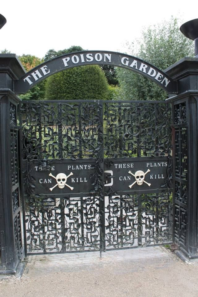 The Poison Garden at Alnwick Garden in Northumberland