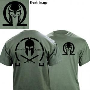 Molon Labe T-Shirt - *T-shirts make great military gifts!* - buy one at www.USAmilitarymedals.com