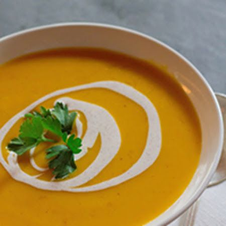 Pour up some of this #creamy #pumpkinsoup