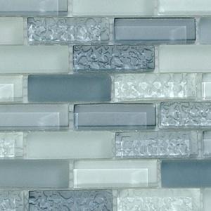 Potential blue glass tile for backsplash? by esther