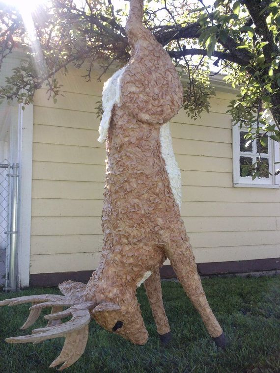 Custom Deer pinata by PinataVille on Etsy