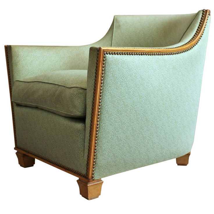 fine french art deco armchair by dominique