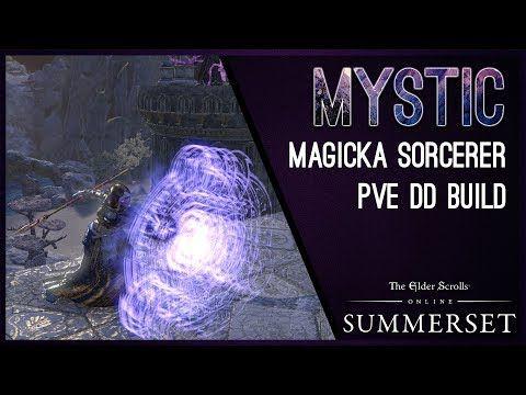 Magicka Sorcerer Build PvE