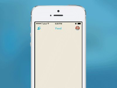 Plate App   Feed Load & Pull-to-Refresh Animation by Tom Graham for Fueled