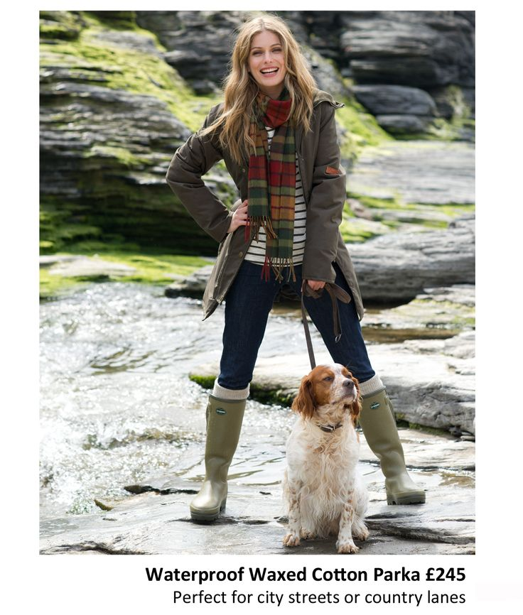 Time to step outside and face the elements with Celtic & Co's collection of waterproof waxed jackets - made in Great Britain! http://www.celticandco.co.uk/ladies/ladies-outerwear-1730/waterproof-waxed-cotton-parka/