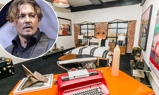 Johnny Depp sells fifth and final Los Angeles penthouse | Daily Mail Online