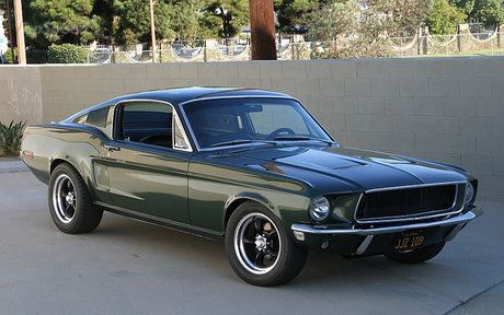 "Limited Edition Steve McQueen ""Bullitt"" Mustang. One of the most famous movie car chases ever!"