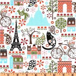 Hoodies Collection L' Amour De La Vie Paris White