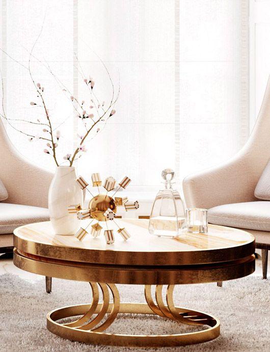 Posh glamorous decor from amr sfgirlbybay interiors for Mobilia jura table