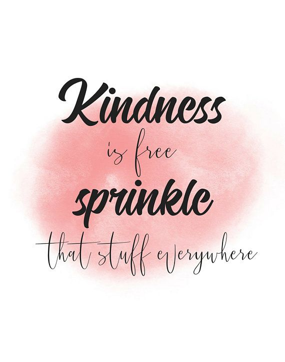 Kindness is free Home decor printable quote