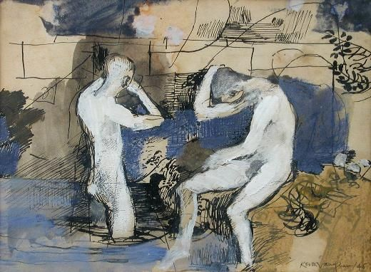 Keith Vaughan, Bathers at Milton