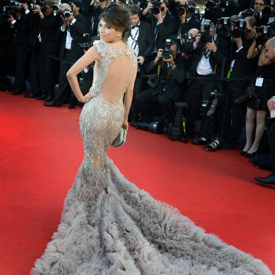 - Eva Longoria in a Marchesa dress 2