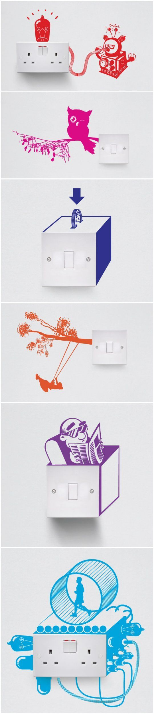 69 best switch decals images on pinterest light switches wall vinyl switch vinyl wall decalswall