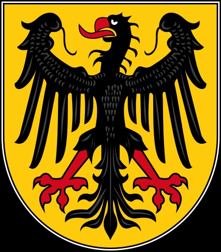 Stadtwappen der kreisfreien Stadt Aachen