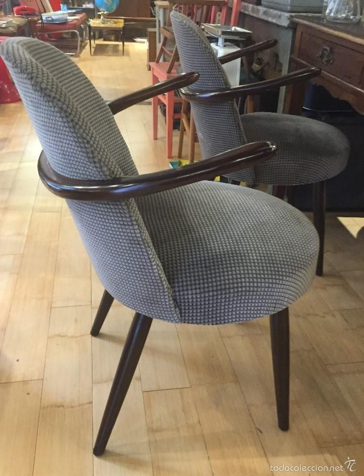 529 best sillas asientos chaises si ges images on for Silla vintage reposabrazos
