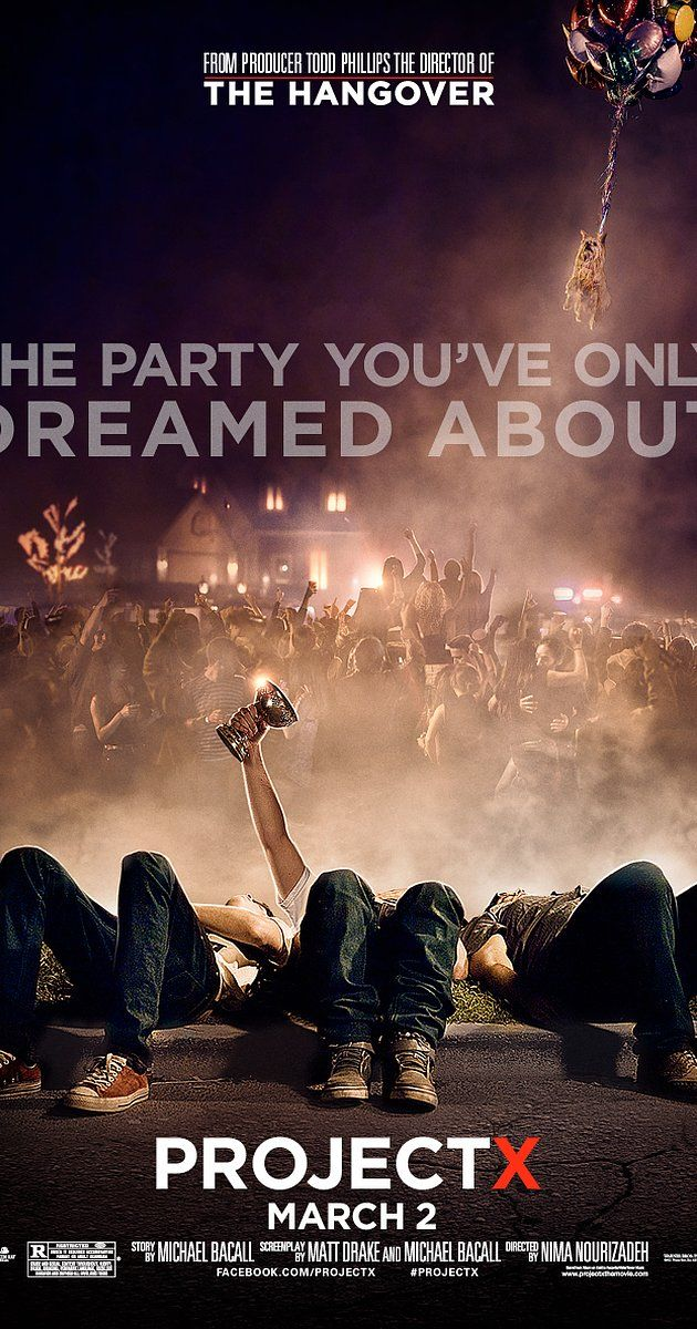 Directed by Nima Nourizadeh.  With Thomas Mann, Oliver Cooper, Jonathan Daniel Brown, Dax Flame. 3 high school seniors throw a birthday party to make a name for themselves. As the night progresses, things spiral out of control as word of the party spreads.