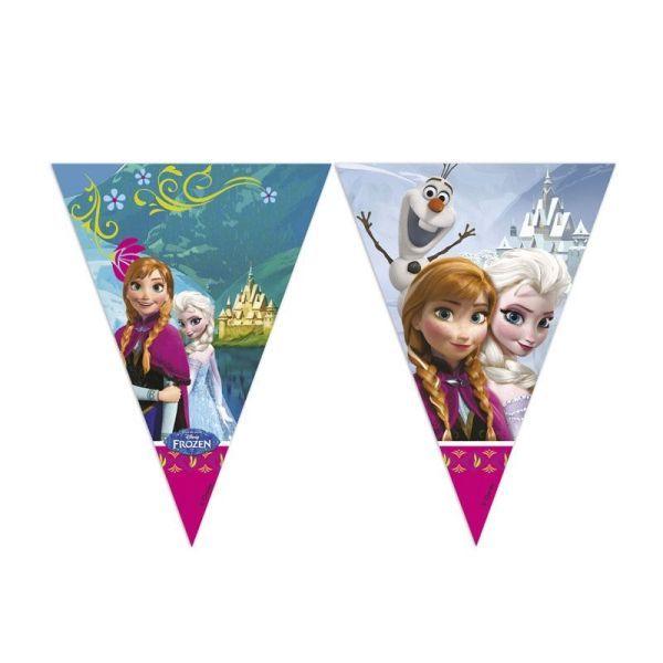 frozen / Ice Queen - bandera de la bandera triangu