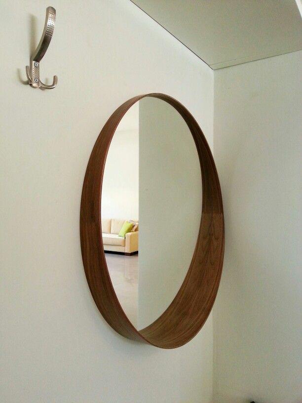 Stockholm Mirror Ideas Ikea, Wood Frame Round Mirror Ikea