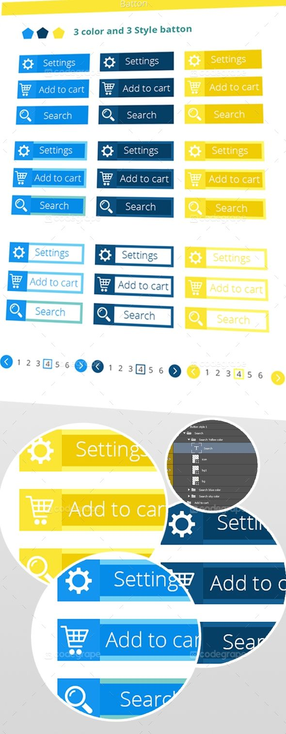 Clean Web Buttons and Icons - http://www.codegrape.com/item/clean-web-buttons-and-icons/5366