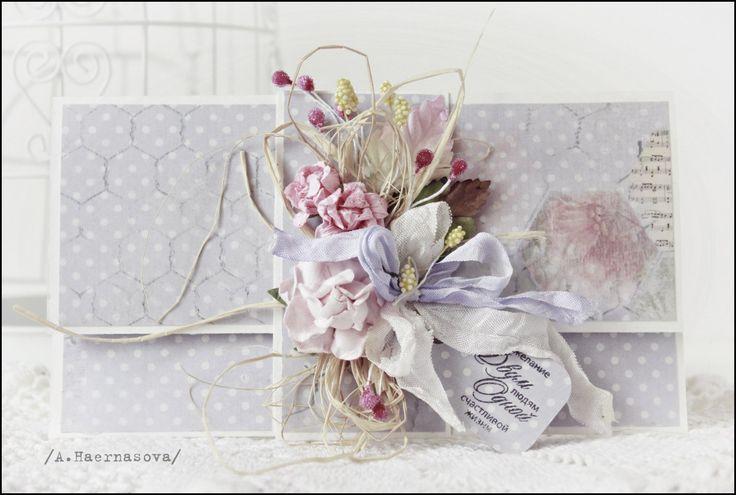 Свадебные открытки и конверты из новой коллекции ScrapBerry's! | AgiArt