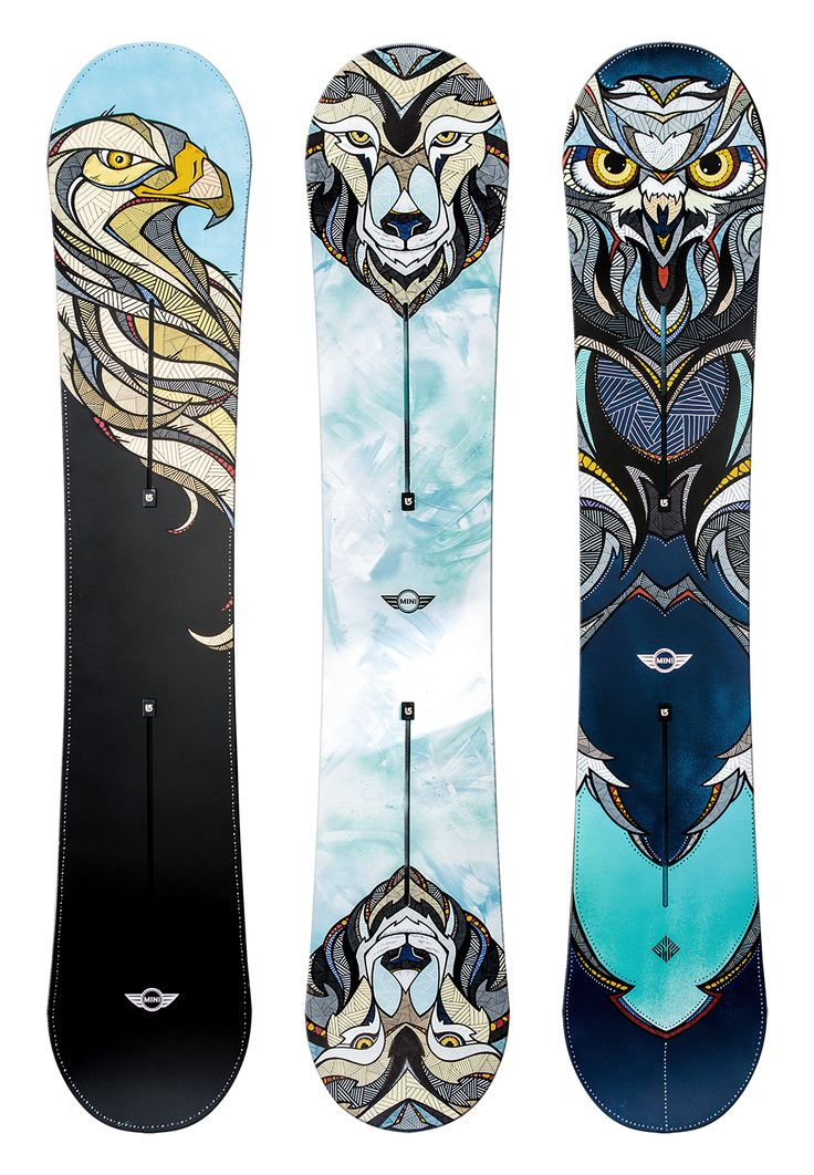 MINI x BURTON // Snow Beasts
