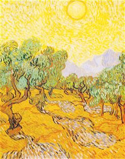 Vincent Van Gogh and yellow