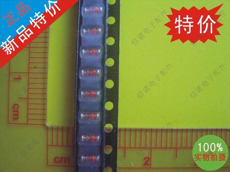 Общая стоимость и транспорт регулятор диод 50 шт. 39 В зеленый шелк красно-оранжевый RLZTE1139B
