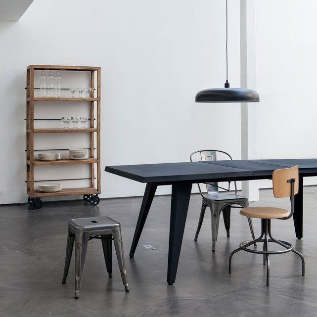 17 beste idee n over metalen tafels op pinterest stalen meubelen - Ampm tafel ...