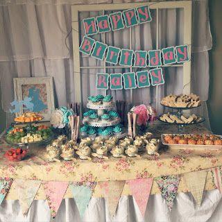 Vintage Cinderella Birthday Party