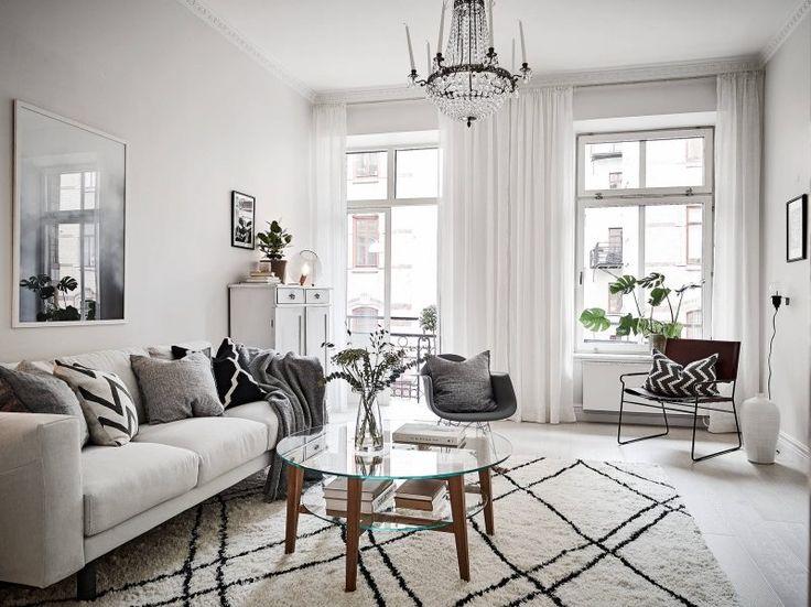 Wonderful Scandinavian apartment with original features