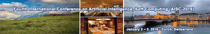 The Conference looks for significant contributions to all major fields of the Artificial Intelligence, Soft Computing in theoretical and practical aspects. http://allconferencecfpalerts.com/
