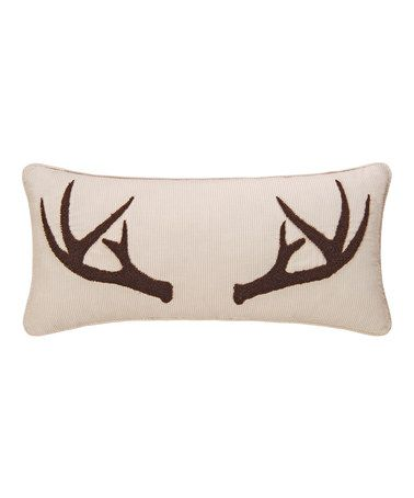 Another great find on #zulily! Sleepy Forest Throw Pillow #zulilyfinds