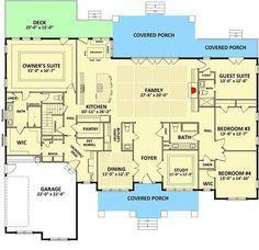 Handsome and Spacious Craftsman House Plan - 46309LA | 1st Floor Master Suite, Bonus Room, Butler Walk-in Pantry, CAD Available, Corner Lot, Craftsman, Den-Office-Library-Study, Northwest, PDF, Split Bedrooms | Architectural Designs