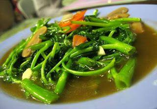 Kumpulan Resep Masakan Populer Indonesia: Resep Tumis Kangkung Sederhana