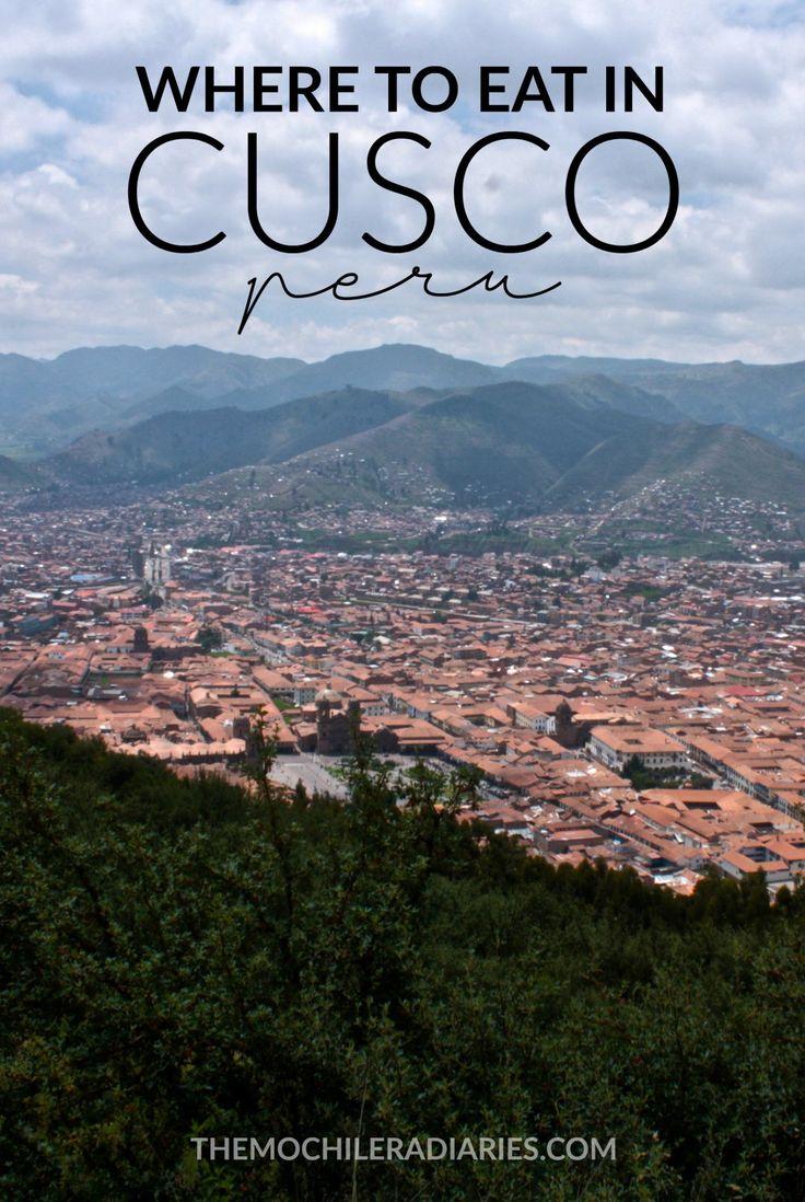Dónde comer en Cusco, Perú