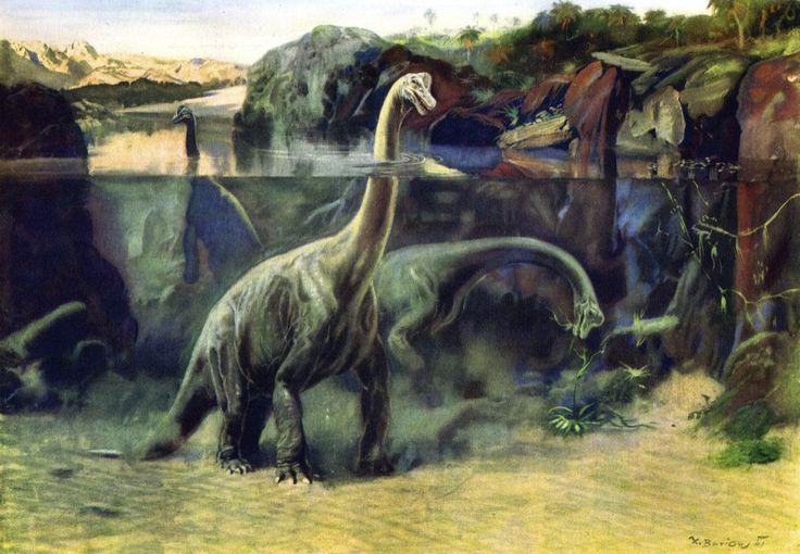 Un paleoartista austro-húngaro entre los indios sioux | Dino Science