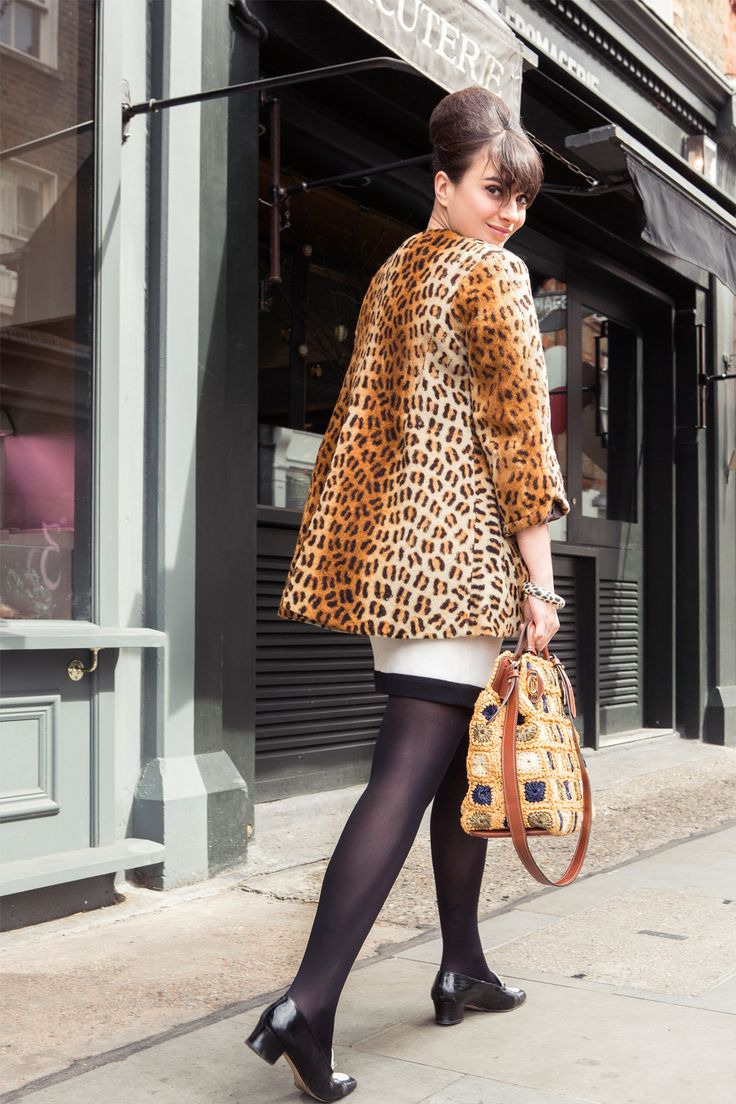 My City, My Style: Gizzi Erskine #joaniegal this vintage, leopard-print jacket in Margate!