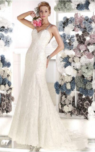Sheath  Empire Sleeveless Floor-length Wedding Dresses wds0080