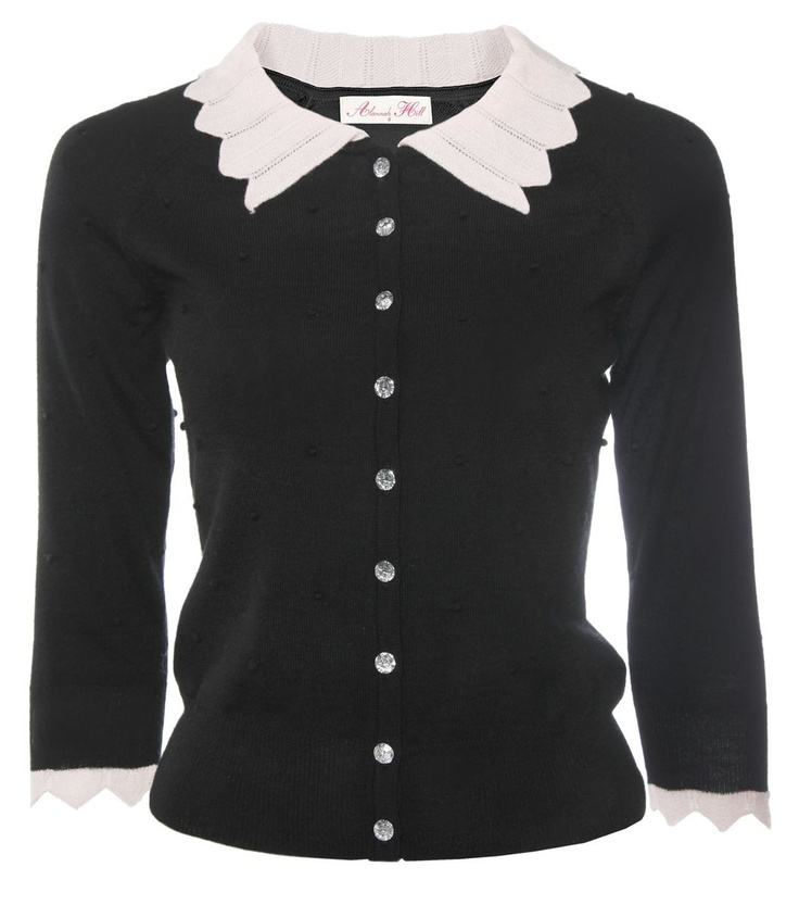 Breathe For Me Cardigan in Black from Alannah Hill