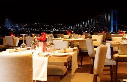 Bridge Restaurant üsküdar da bogaz manzarasına ve güzel yemeklere doyacağınız enfes restaurant.