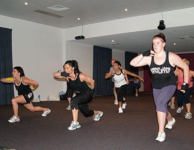 Queen of Body Combat - my favourite fitness class :-)