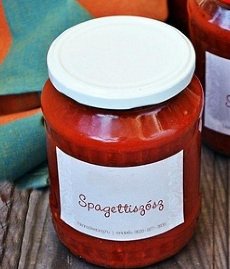 Spagetti szósz Kép Kandikó Éva
