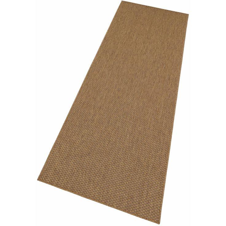 Tapis de couloir tissé aspect sisal My Home. Les qualités de ce tapis My Home aspect sisal sont impressionnantes. Il peut être installé à l'intérieur ou à l'extérieur de votre habitat car il est parfaitement résistant à l'eau, aux moisissures, aux rayons UV... et aux passages fréquents.