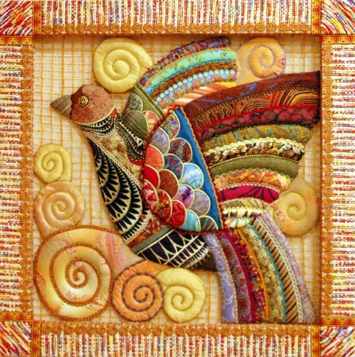 Another quilt from the Association of Russian masters patchwork