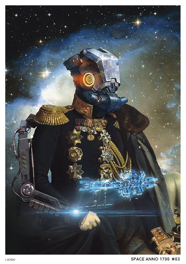 Space Anno 1700 #03 Photobashing & Painting - Adobe Photoshop