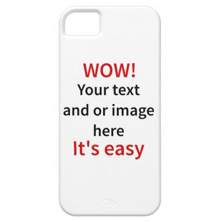 Customizable Template Make Your Own iPhone 5 Cases