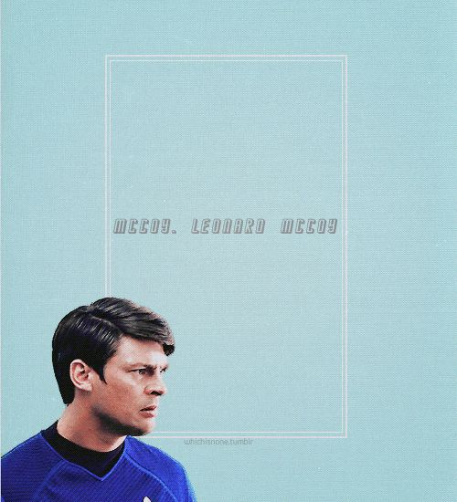 The ever lovable Dr McCoy