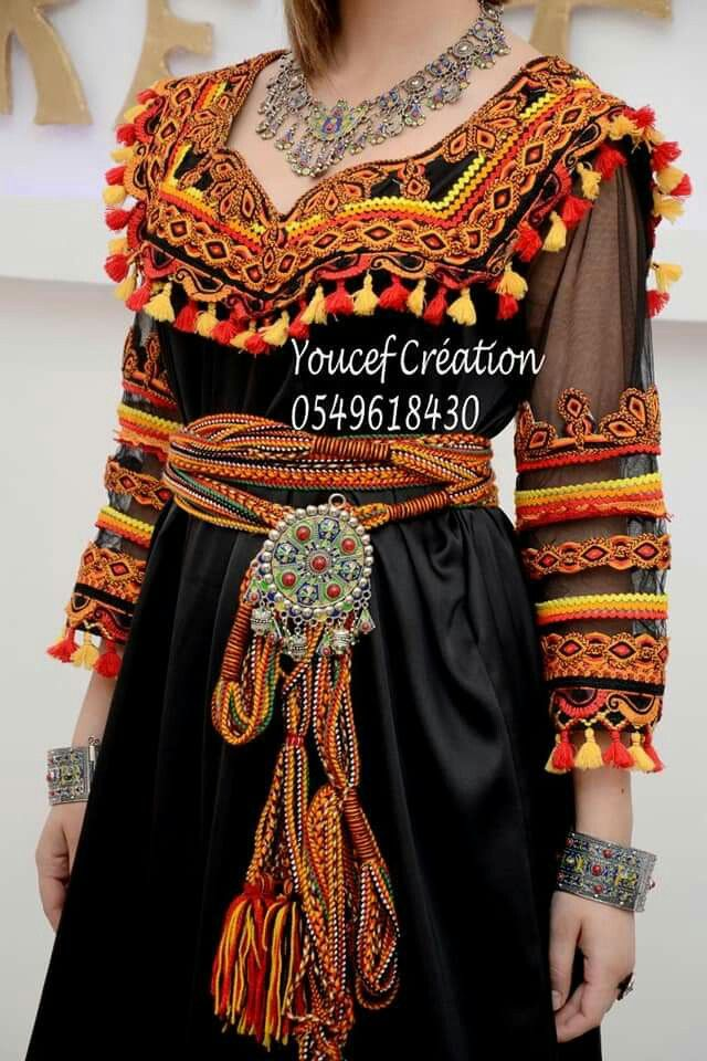 Pin By Mimi Nawara On Robe Kabyle Fashion Algerian Clothing Boho Style Dresses