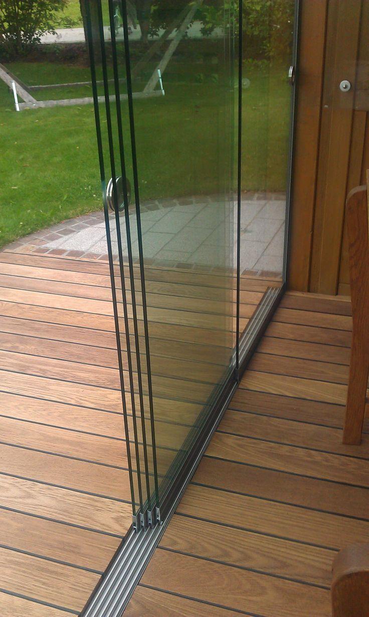 5 Track Glass Sliding Doors Modern All Glass Sliding Systems