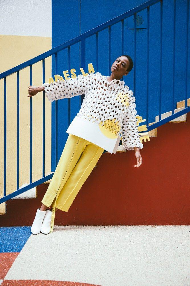 Fashion Designer: Anaïs Roger   Photographer: Fanny Dussol
